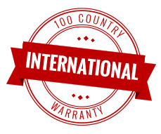 100 country international warranty