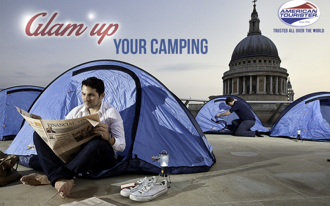 Glam Up Your Camping