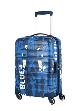 Play4blue Champions Edition Blue Luggage